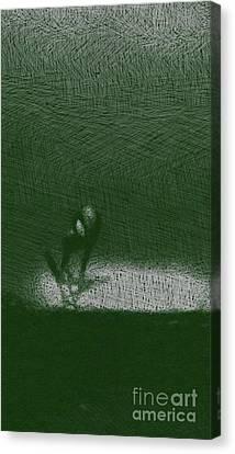 Bizarre Canvas Print - Strange Alien by Raphael Terra
