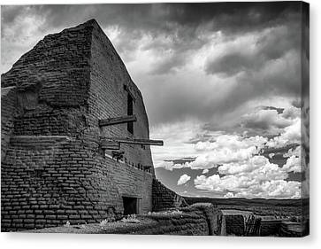 Canvas Print featuring the photograph Strange Architecture by James Barber