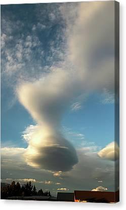 Strange Cloudform Canvas Print