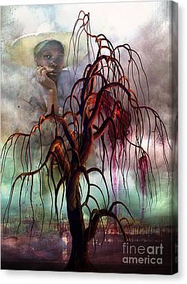 Racism Canvas Print - Strange Fruit by Tammera Malicki-Wong