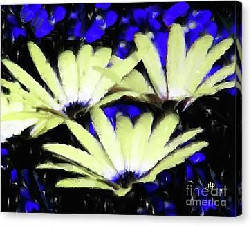Strange Marigold Canvas Print by Hai Pham