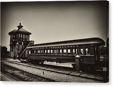 Strasburg Rail Road Canvas Print by Bill Cannon