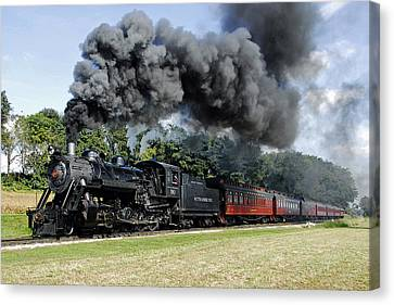 Strasburg Railroad Canvas Print