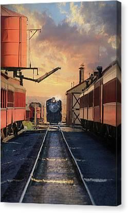 Strasburg Railroad Station Canvas Print