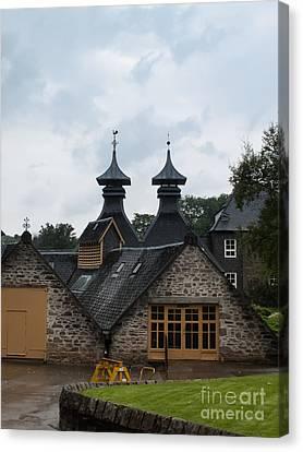 Canvas Print featuring the photograph Strathisla Whisky Distillery Scotland #4 by Jan Bickerton