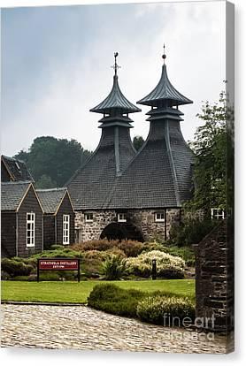 Strathisla Whisky Distillery Scotland Canvas Print by Jan Bickerton