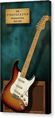 Stratocaster Anniversary 2 Canvas Print