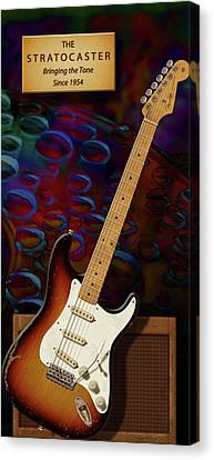 Stratocaster Anniversary V Canvas Print