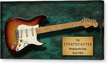 Stratocaster Anniversary Canvas Print