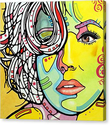 Strawberry Blonde Canvas Print by Dean Russo