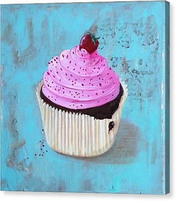 Strawberry Delight Canvas Print
