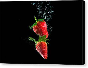 Strawberry Falls Canvas Print