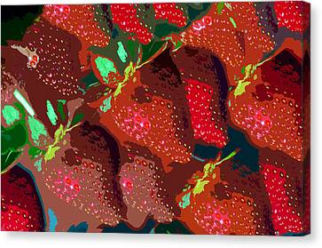 Strawberry Fields Forever Canvas Print by David Lee Thompson