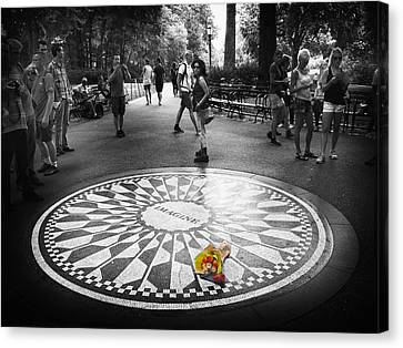 Strawberry Fields Forever Canvas Print by Jessica Jenney