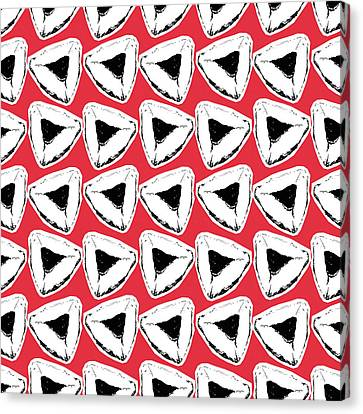 Berry Canvas Print - Strawberry Hamentashen- Art By Linda Woods by Linda Woods