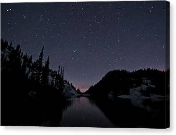 Strawberry Lake Canvas Print
