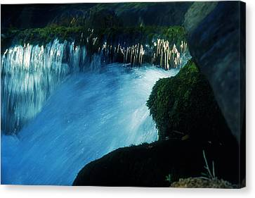 Canvas Print featuring the photograph Stream 6 by Dubi Roman