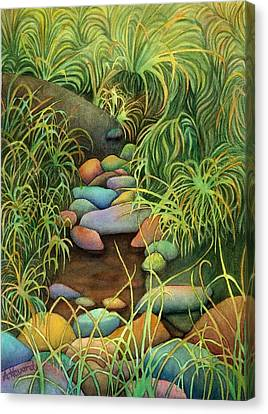 Stream Canvas Print by Anne Havard