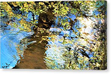 Stream Of Consciousness Canvas Print