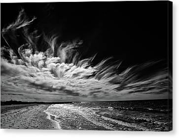Streaming Clouds Canvas Print
