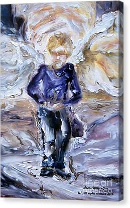 Street Angel Canvas Print