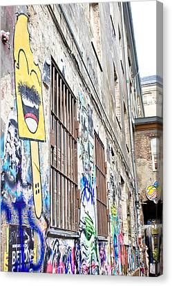 For Factory Canvas Print - Street Art by Tom Gowanlock
