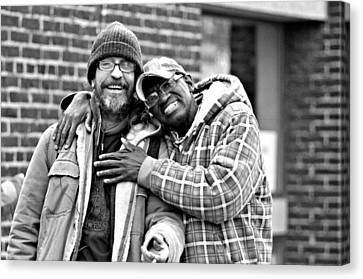 Street Buddies Canvas Print