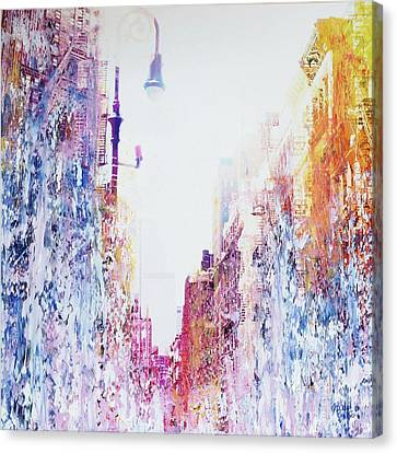 Street Canyon Canvas Print