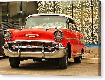 Canvas Print featuring the photograph Street Classic by Al Fritz