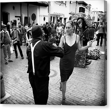 Heartbreaker Canvas Print - Street Dancing by Daniel Gomez