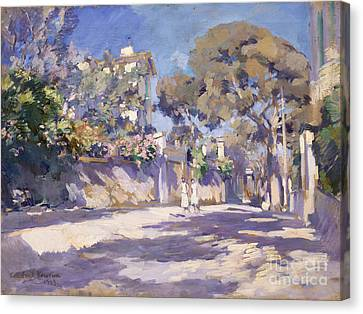 Street In The South Of France Canvas Print