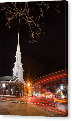 Street Lights Canvas Print