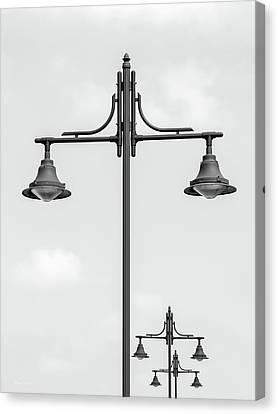 Street Lights Canvas Print by Wim Lanclus
