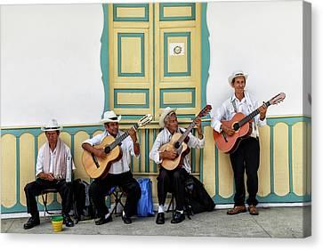 Street Musicians - Salento, Colombia - 24x36 Promo Canvas Print