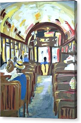 Streetcar Of Next Canvas Print by Kerin Beard