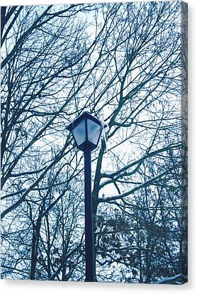 Streetlamp Canvas Print by Utopia Concepts
