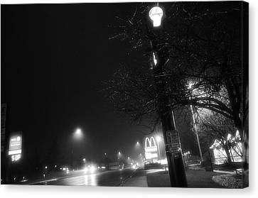 Streetlights Canvas Print by Jeanette O'Toole