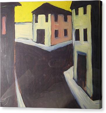 Streets Canvas Print by Biagio Civale