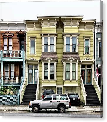 Streets Of San Francisco Canvas Print by Julie Gebhardt