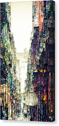 Streetscape 1 Canvas Print