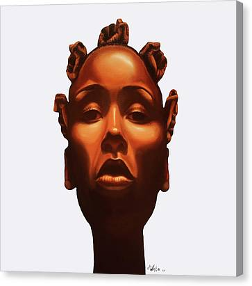 Strength In My Crown Canvas Print