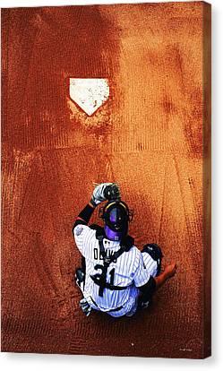 Strike Three Canvas Print by Darryl Gallegos