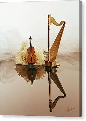 String Duet Canvas Print by Judi Quelland