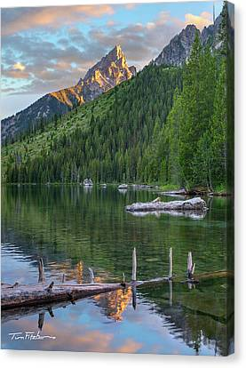 String Lake Canvas Print