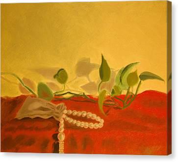 String Of Pearls Canvas Print by Krishnamurthy S
