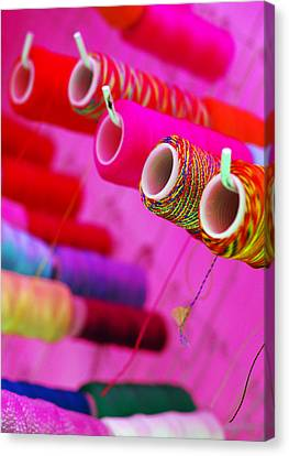 Canvas Print featuring the photograph String Theory by Skip Hunt