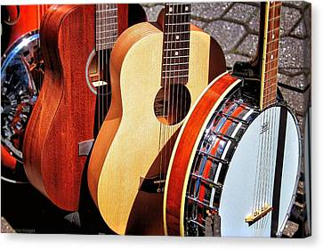 Strings Attached Canvas Print by Wallaroo Images