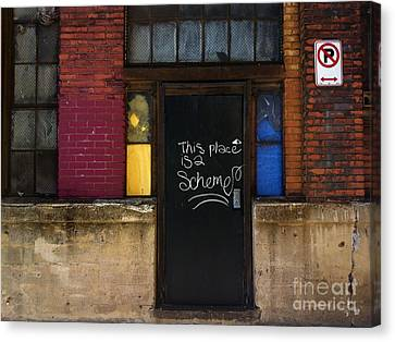 Pittsburgh Canvas Print - Strip District Doorway Number Six by Amy Cicconi