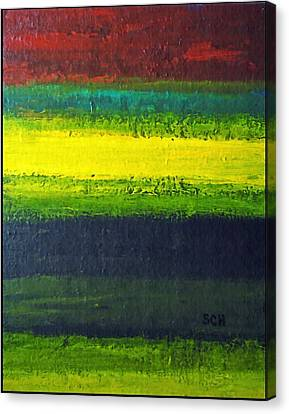 Stripes Number 3 Canvas Print by Scott Haley
