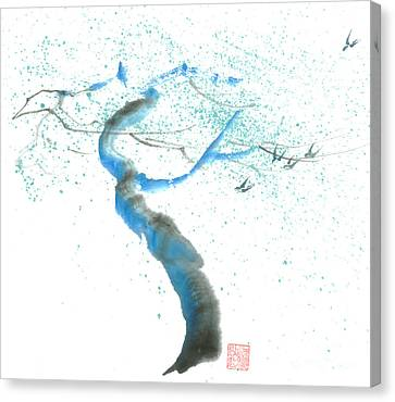 Strong Wind Canvas Print by Mui-Joo Wee